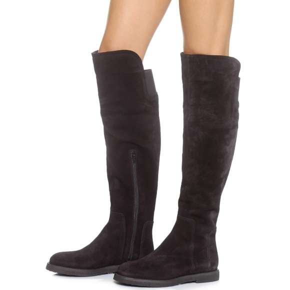 26358510728 🆕VINCE Colton Suede Over The Knee Boots 7.5 NWT